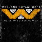 Weyland Yutani - Grunge by Remus Brailoiu