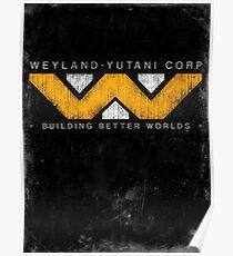 Weyland Yutani - Grunge Poster