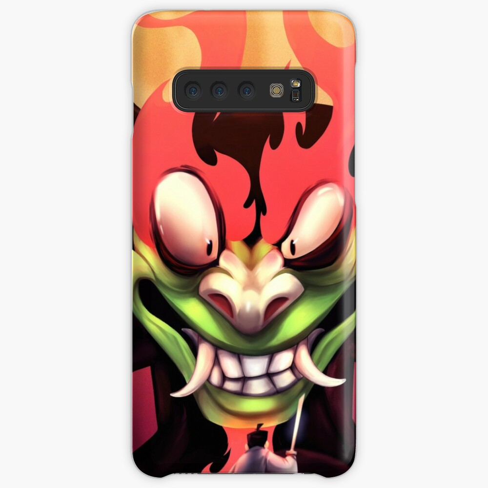 AKU : The Shapeshifting Master of Darkness and a Samurai's last stand. Case & Skin for Samsung Galaxy