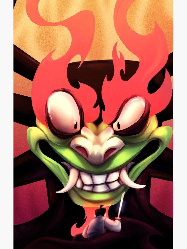 AKU : The Shapeshifting Master of Darkness and a Samurai's last stand. by DavidW-Art