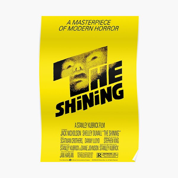 The Shining 1980 Movie Poster Art Poster