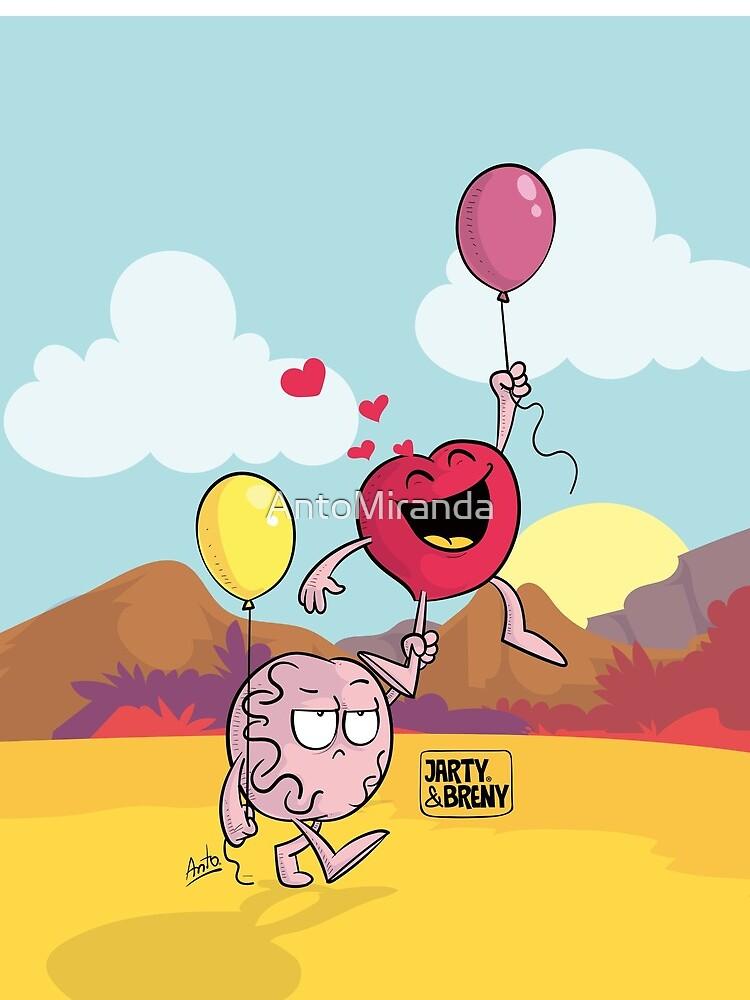 San Valentin-J&B - globo de AntoMiranda