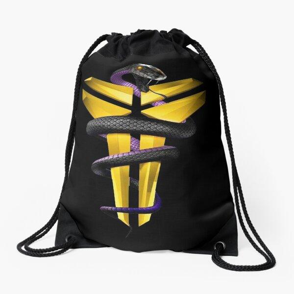 King of Mamba (Artwork #FB0301) Drawstring Bag