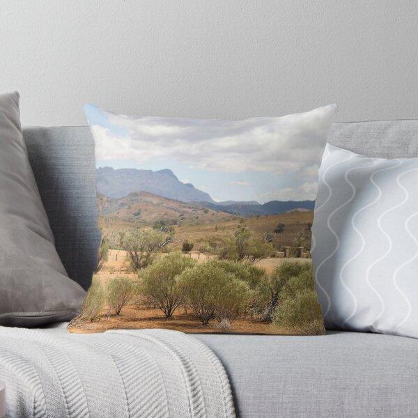 Arkaba Homestead & Elder Range Throw Pillow