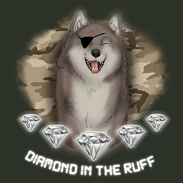 MGSV - Diamond in the Ruff by RileyOMalley