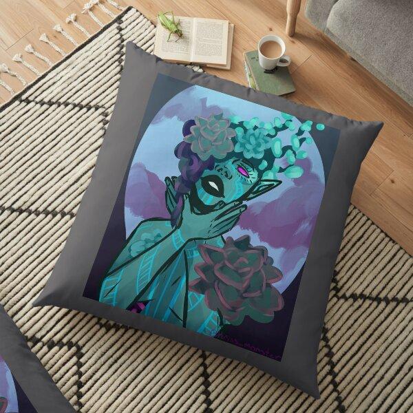 Succulent Faerie Floor Pillow