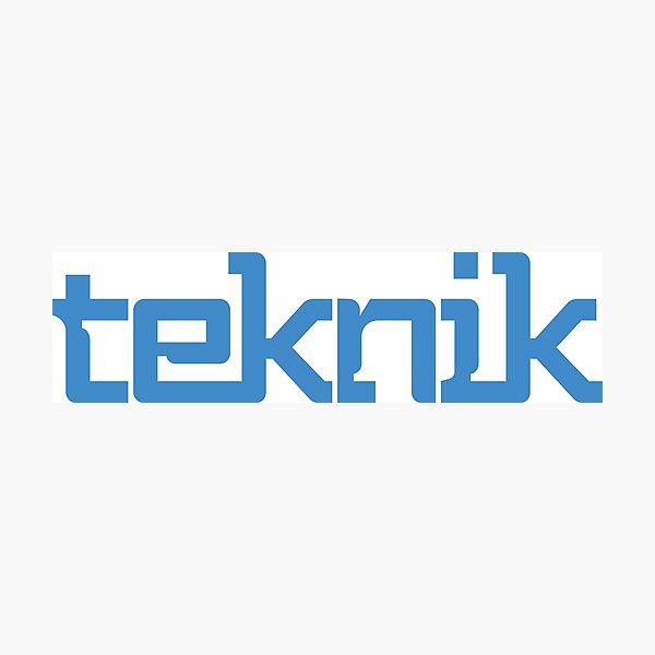 Teknik Logo Photographic Print