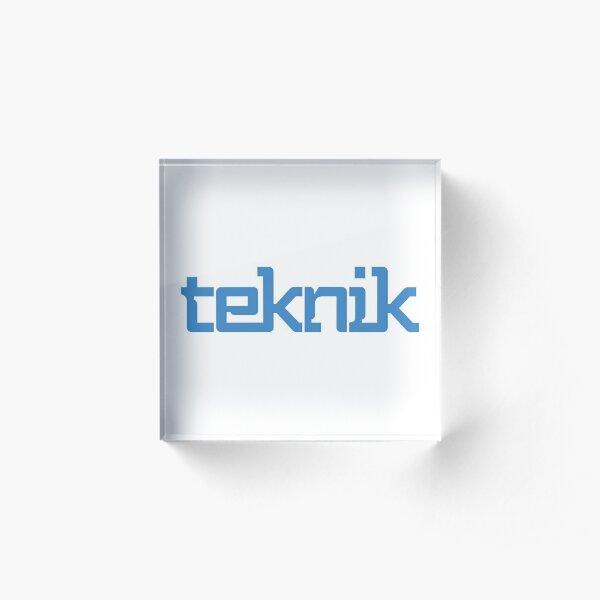 Teknik Logo Acrylic Block