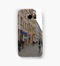 City life in Sarajevo Samsung Galaxy Case/Skin