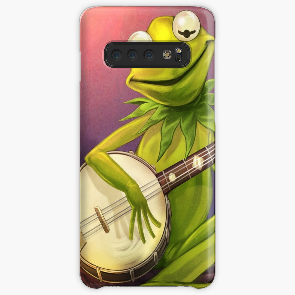 frog: rainbow connection banjo Case & Skin for Samsung Galaxy