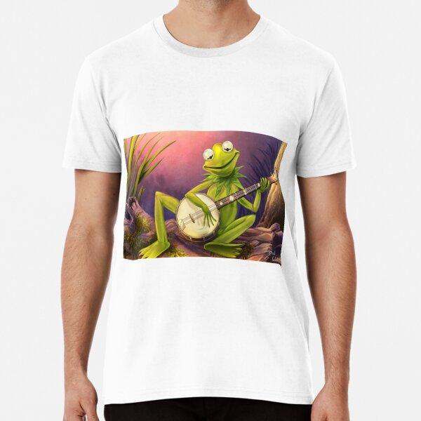 frog: rainbow connection banjo Premium T-Shirt
