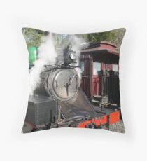 Puffing Billy  Throw Pillow