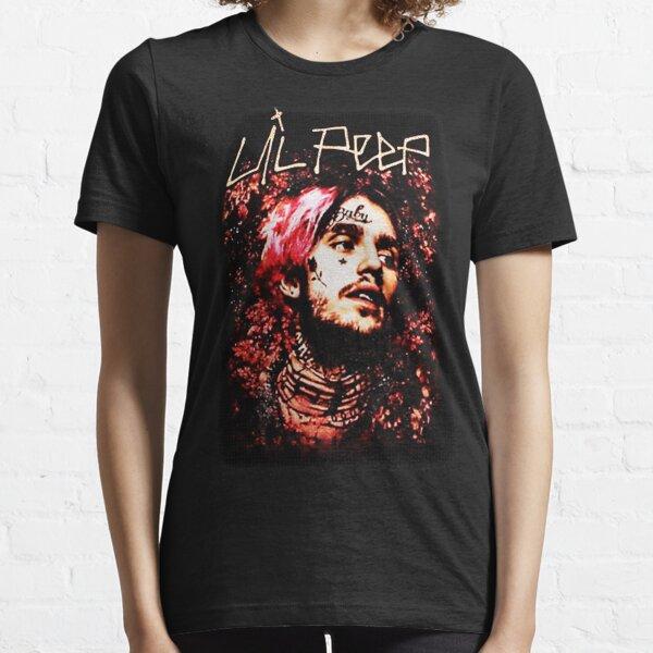 Portrait floral de Lil Peep T-shirt essentiel