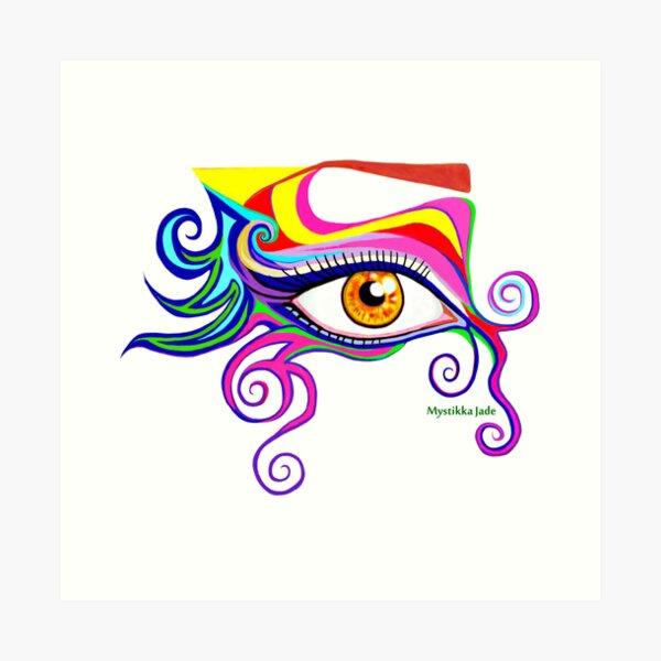 Wild Eye Art Print