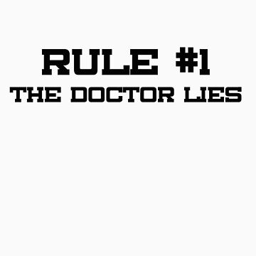Rule #1 by consulttimelord