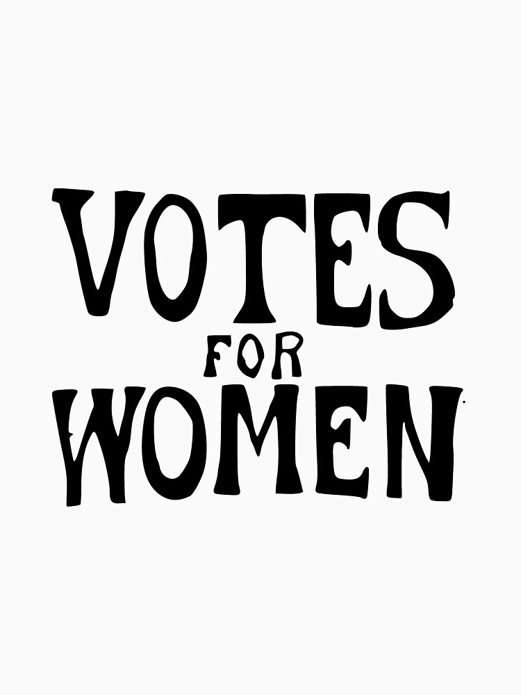 Votes For Women Suffragette Protest Sign by joehx