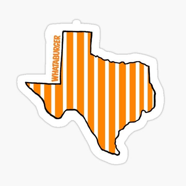 Texas Whataburger Sticker