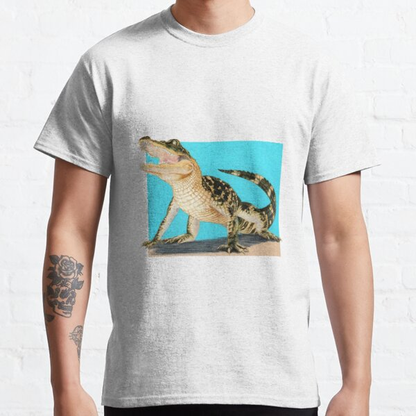 Baby Alligator Smiling! art by Wildlife Artist Sherrie Spencer Classic T-Shirt