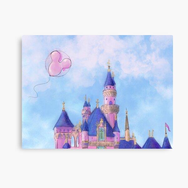 Enchanted Kingdom Castle Canvas Print