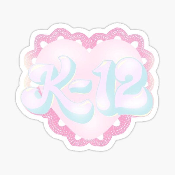 K-12 Logo Sticker