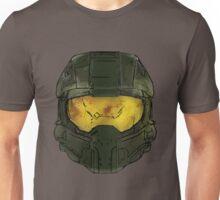 Master Chief Helmet Sketch Unisex T-Shirt