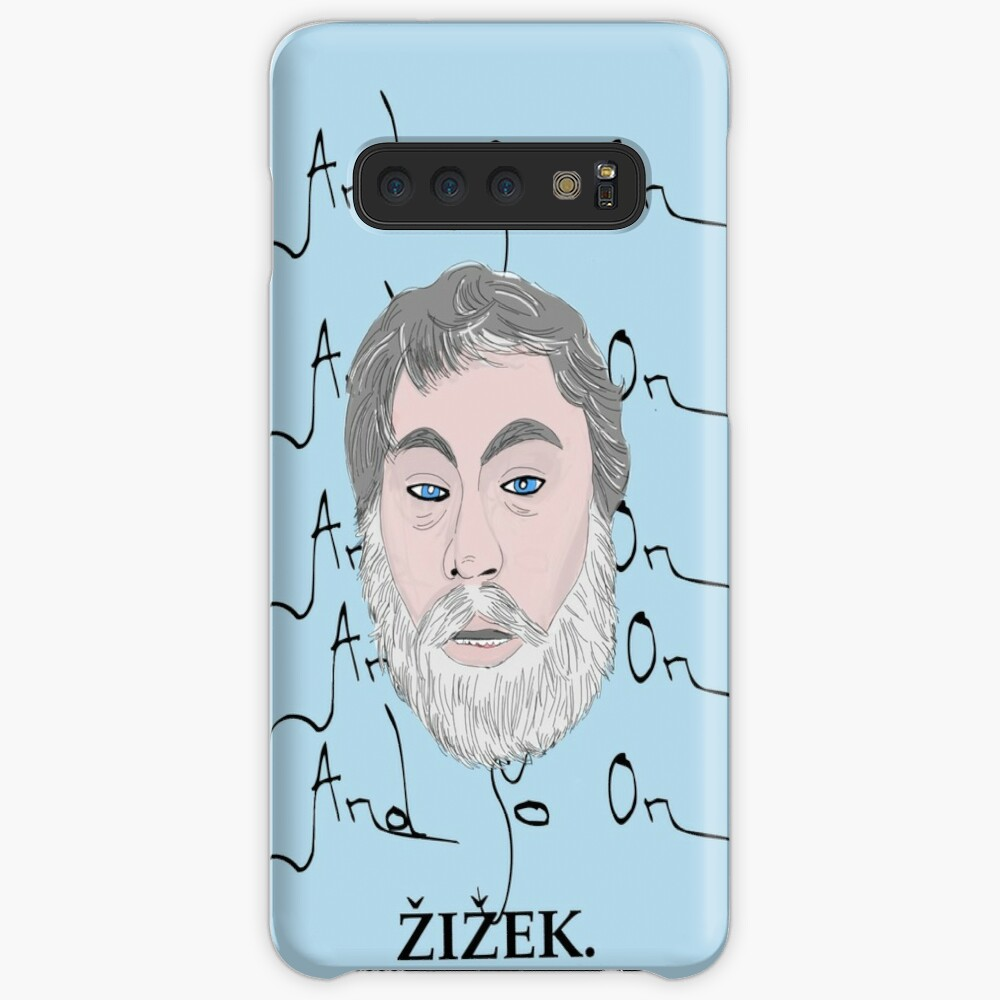 Zizek and so on Case & Skin for Samsung Galaxy