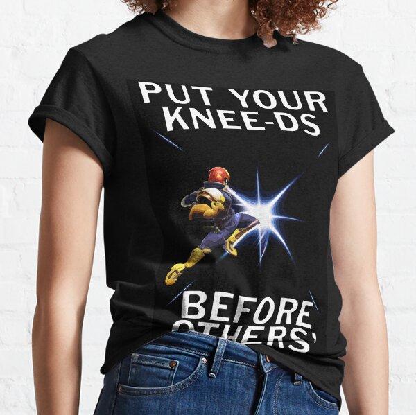 Captain Falcon - Your Knee-ds Classic T-Shirt