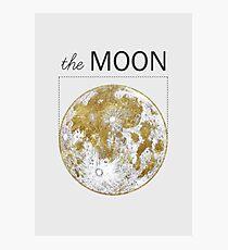 Golden Moon Photographic Print