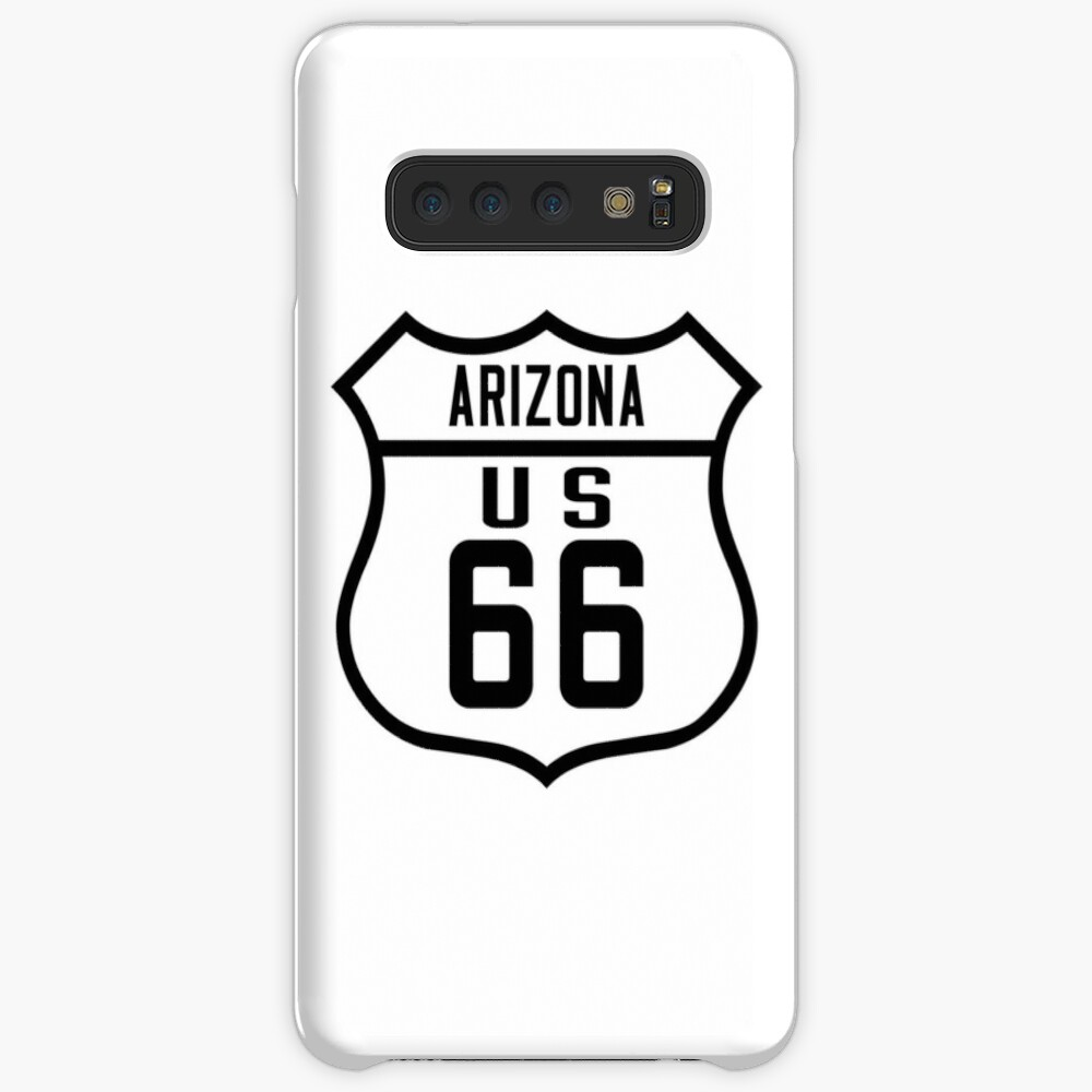 Route 66 Arizona Road Sign Case & Skin for Samsung Galaxy