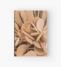 wooden spoons and ladles Hardcover Journal