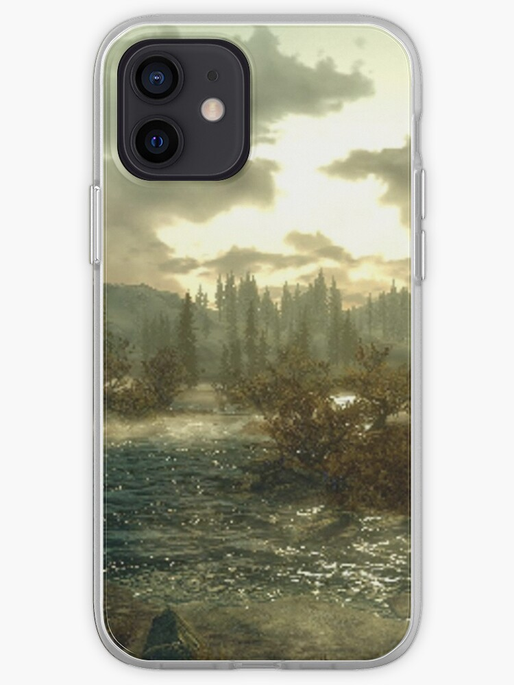 Paysage de Skyrim   Coque iPhone