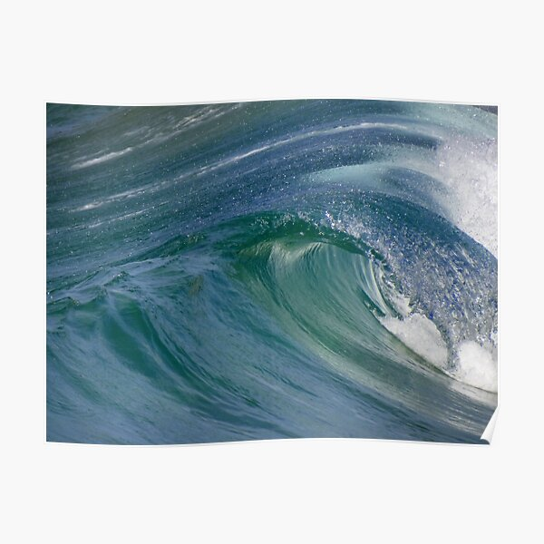 Curvaceous Water Poster