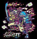 Adult Robot Vampire Ninja Ghost Zombie by Alex Gallego