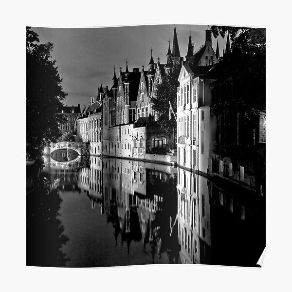 Canals of Bruges Poster