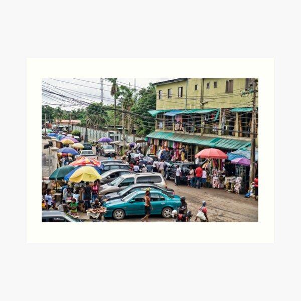 Ikeja  Lagos   Art Print
