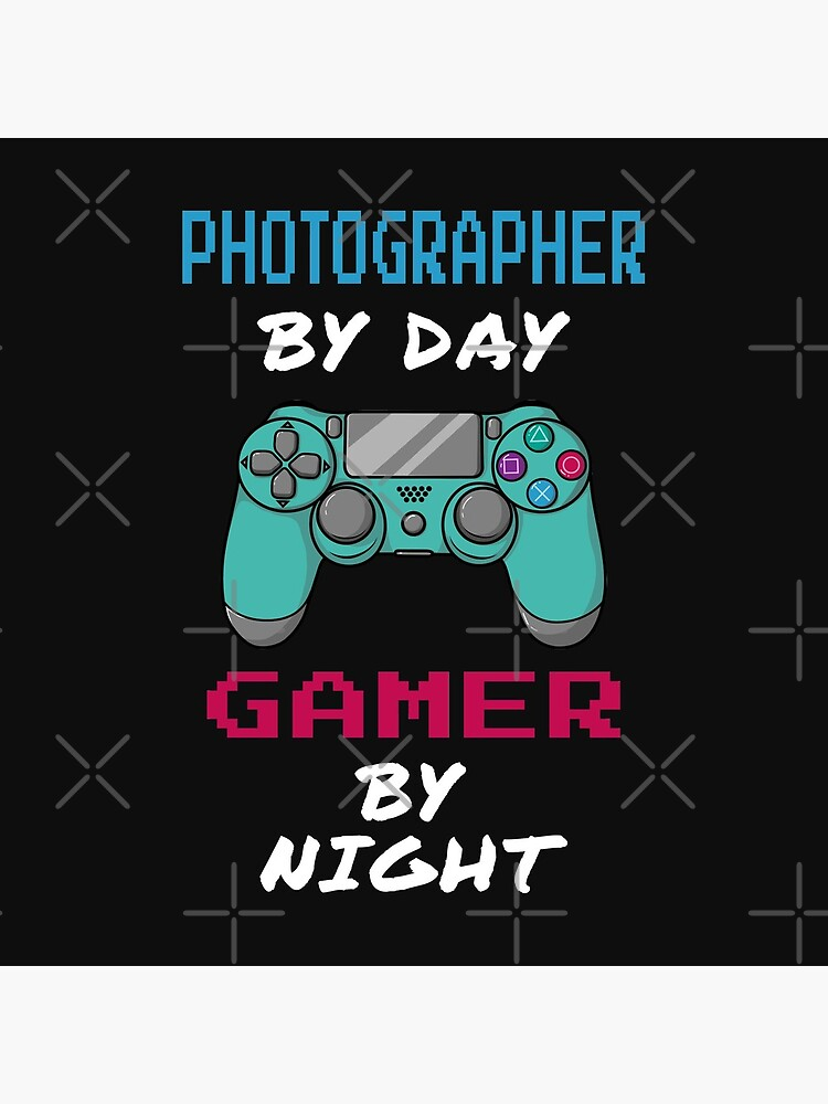 Photographer By Day Gamer By Night by rukia020290