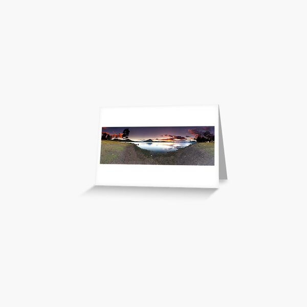 """Moogerah Cove"" ∞ Lake Moogerah, QLD - Australia Greeting Card"