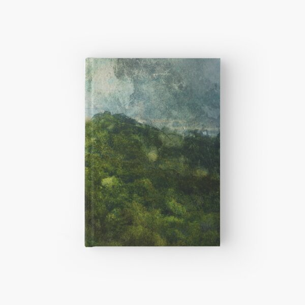 Isolated Hardcover Journal