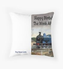 Premature congratulations Throw Pillow