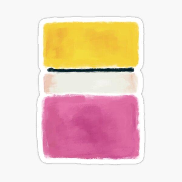 Rothko Inspired #24 Sticker