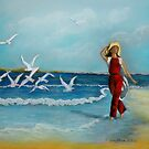Joys of Freedom  pastel painting by sandysartstudio