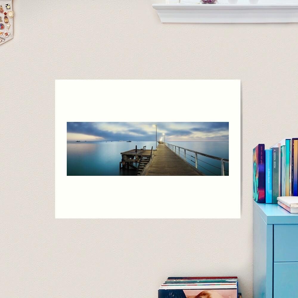 Beachport Jetty, South Australia Art Print