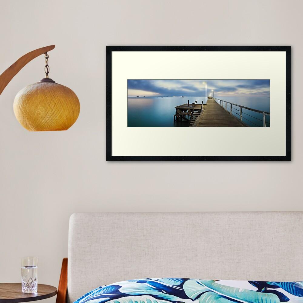 Beachport Jetty, South Australia Framed Art Print