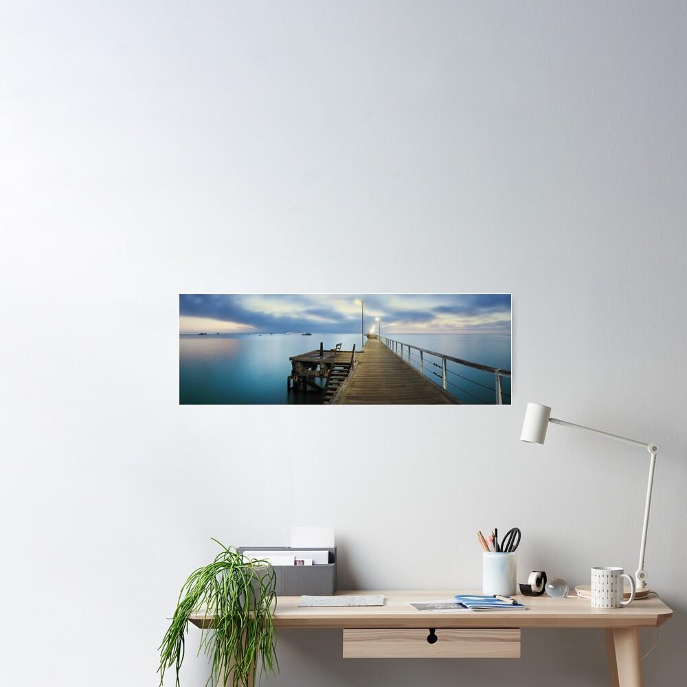 Beachport Jetty, South Australia Poster