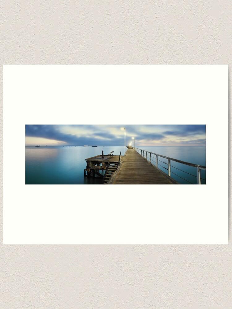Alternate view of Beachport Jetty, South Australia Art Print