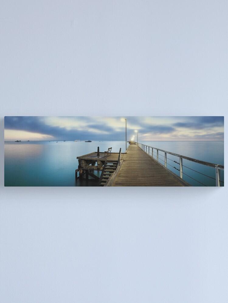Alternate view of Beachport Jetty, South Australia Canvas Print