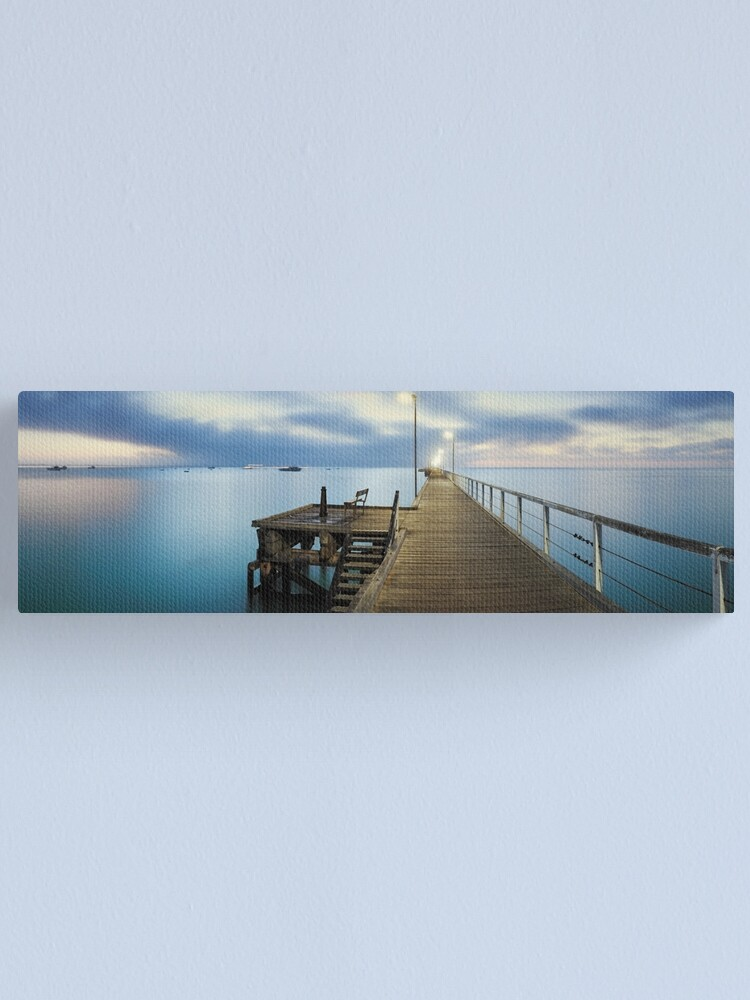 Alternate view of Beachport Jetty, South Australia Canvas Print