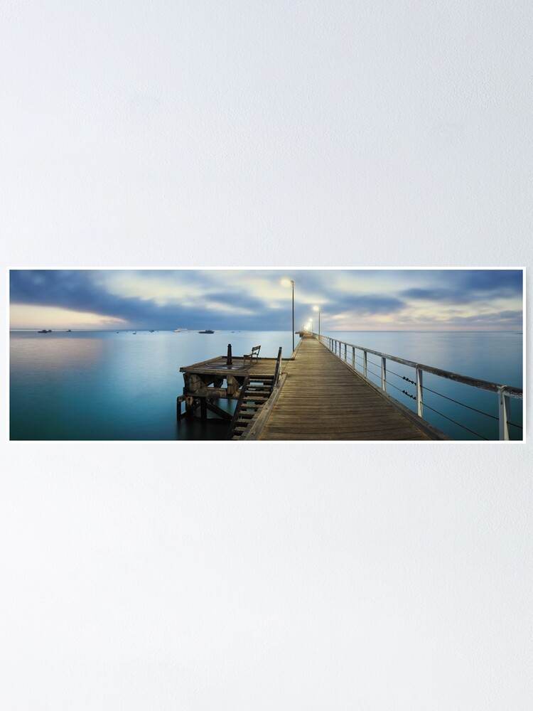 Alternate view of Beachport Jetty, South Australia Poster