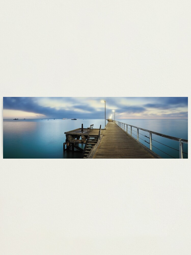 Alternate view of Beachport Jetty, South Australia Photographic Print