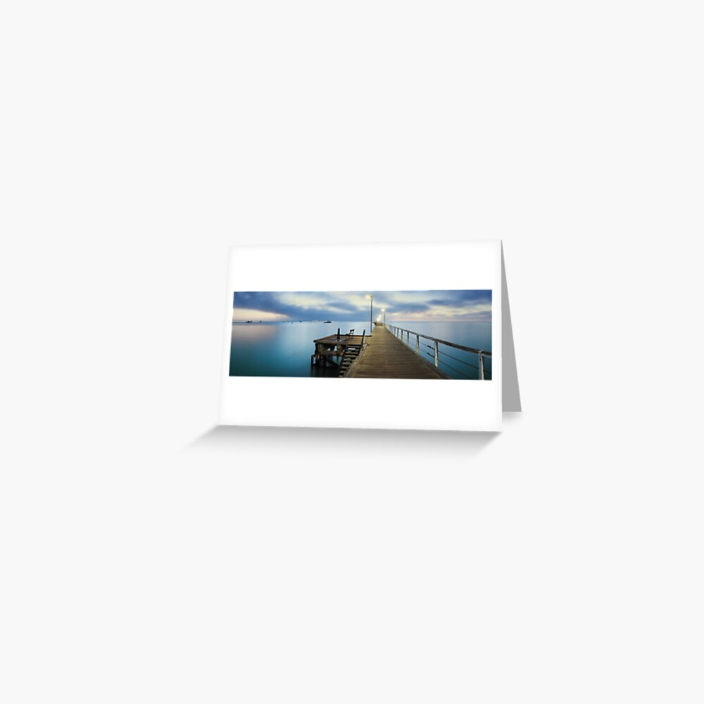 Beachport Jetty, South Australia Greeting Card